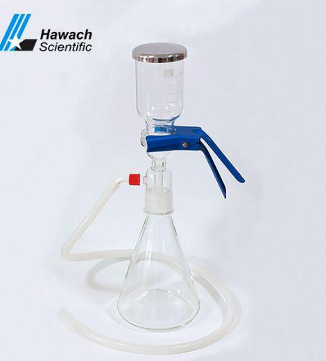 Filtru de solvent din sticlă de 500 ml
