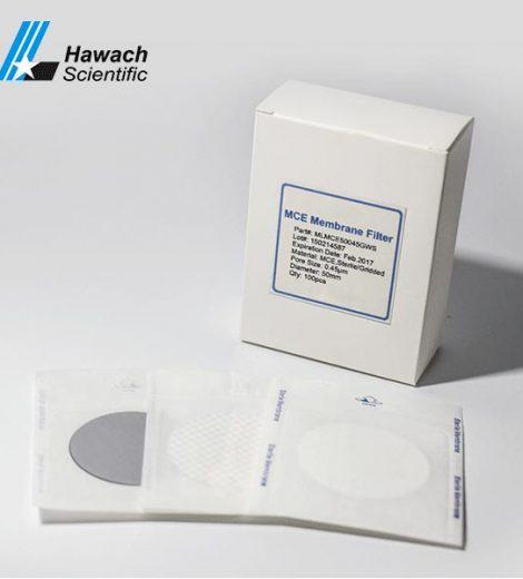 Membrană filtrantă sterilă din mce tip grilă