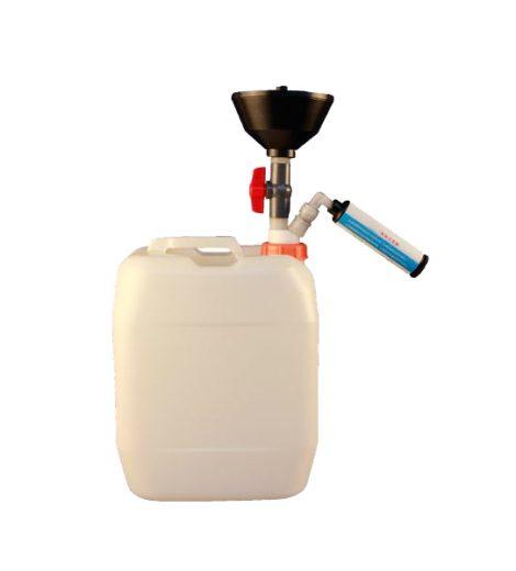 Sistem de colectare a deșeurilor lichide de laborator